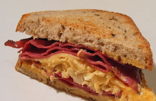 What's for Dinner: Reuben sandwich