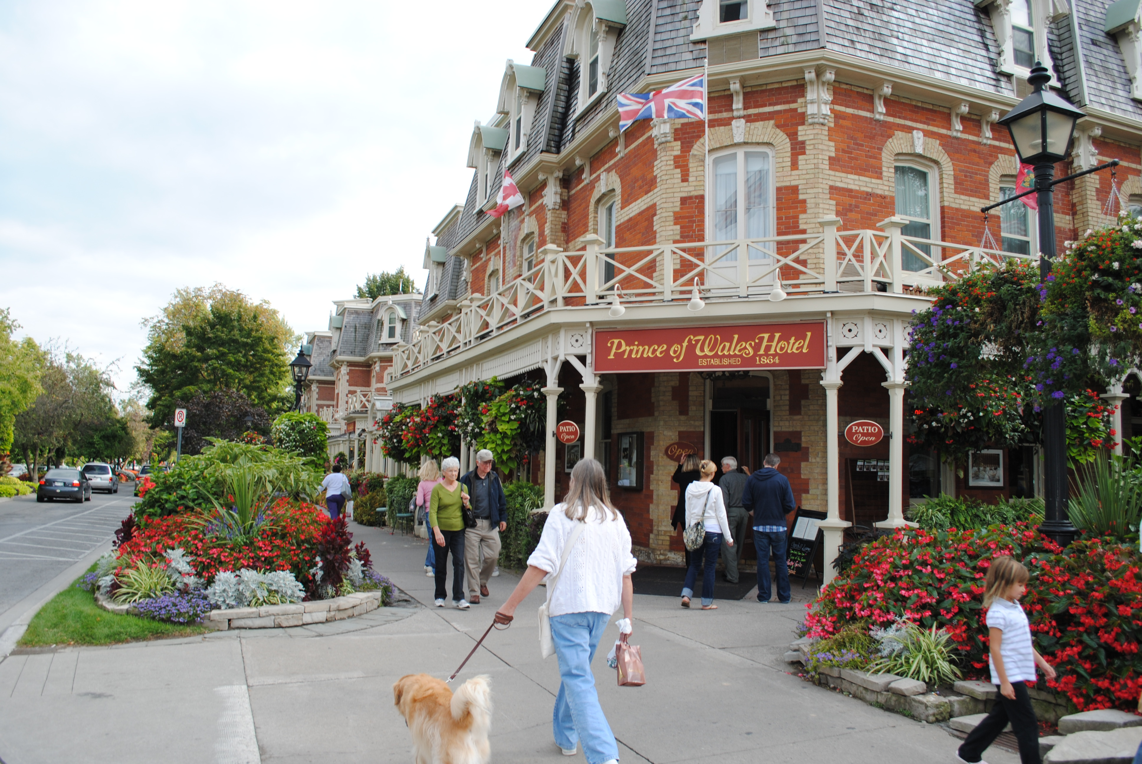 Niagara on the Lake, Ontario: The quaint village is a real charmer during autumn