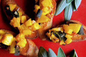 Caramelized Pumpkin Bruschetta/Steve Mellon