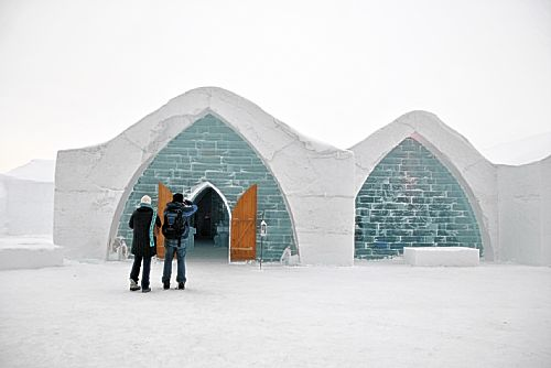 Chilling out at Quebec's Hotel de Glace: a night on ice