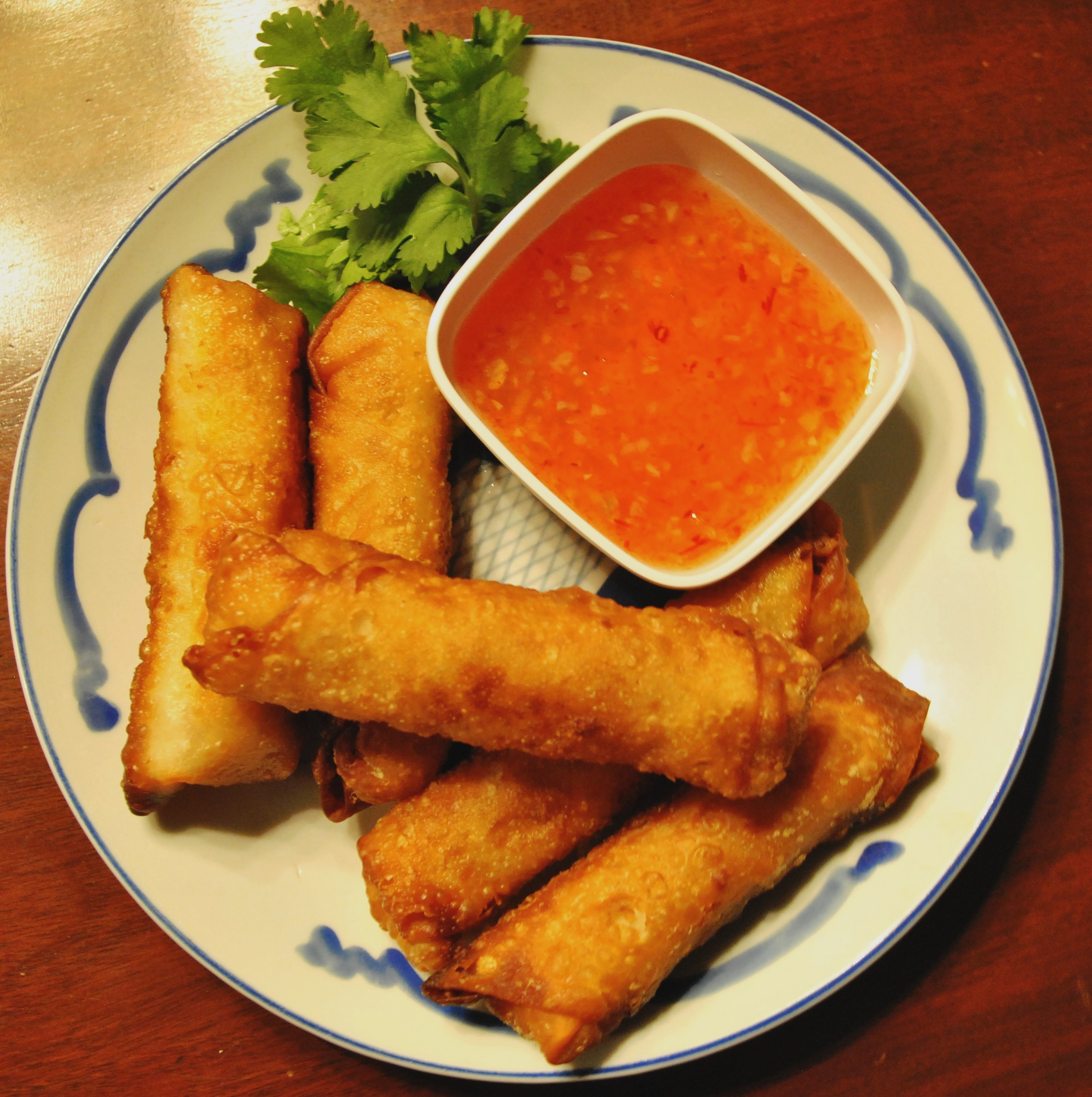 Roll into spring with . . . spring rolls