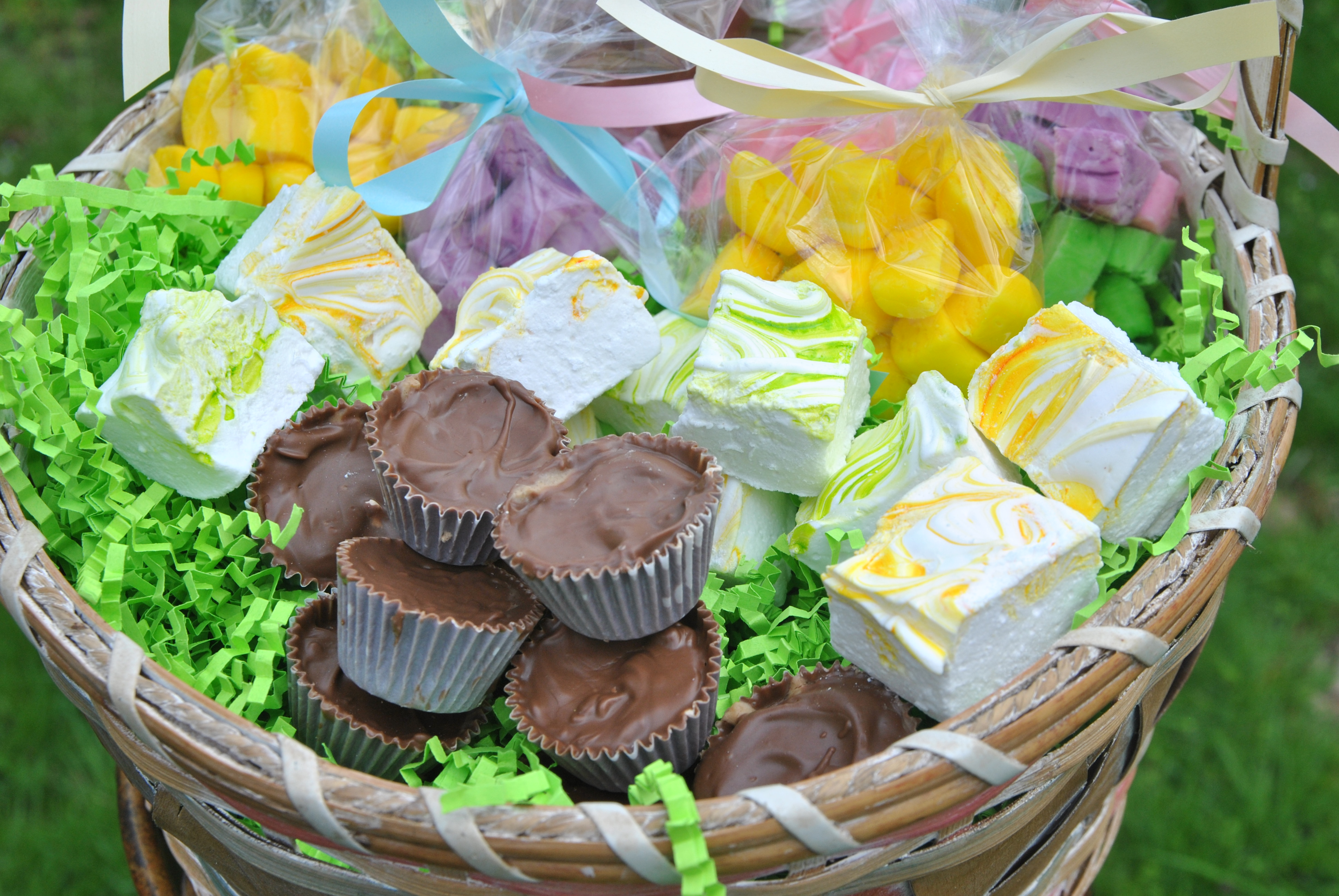 Hop to it and make your own Easter basket treats