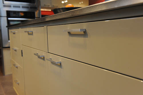 Old hospital cabinets play integral role in revamped kitchen