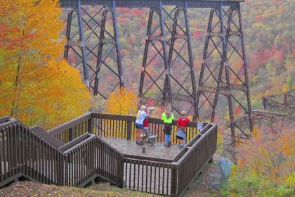 Kinzua colors: Reborn bridge offers spectacular views of Pennsylvania fall foliage