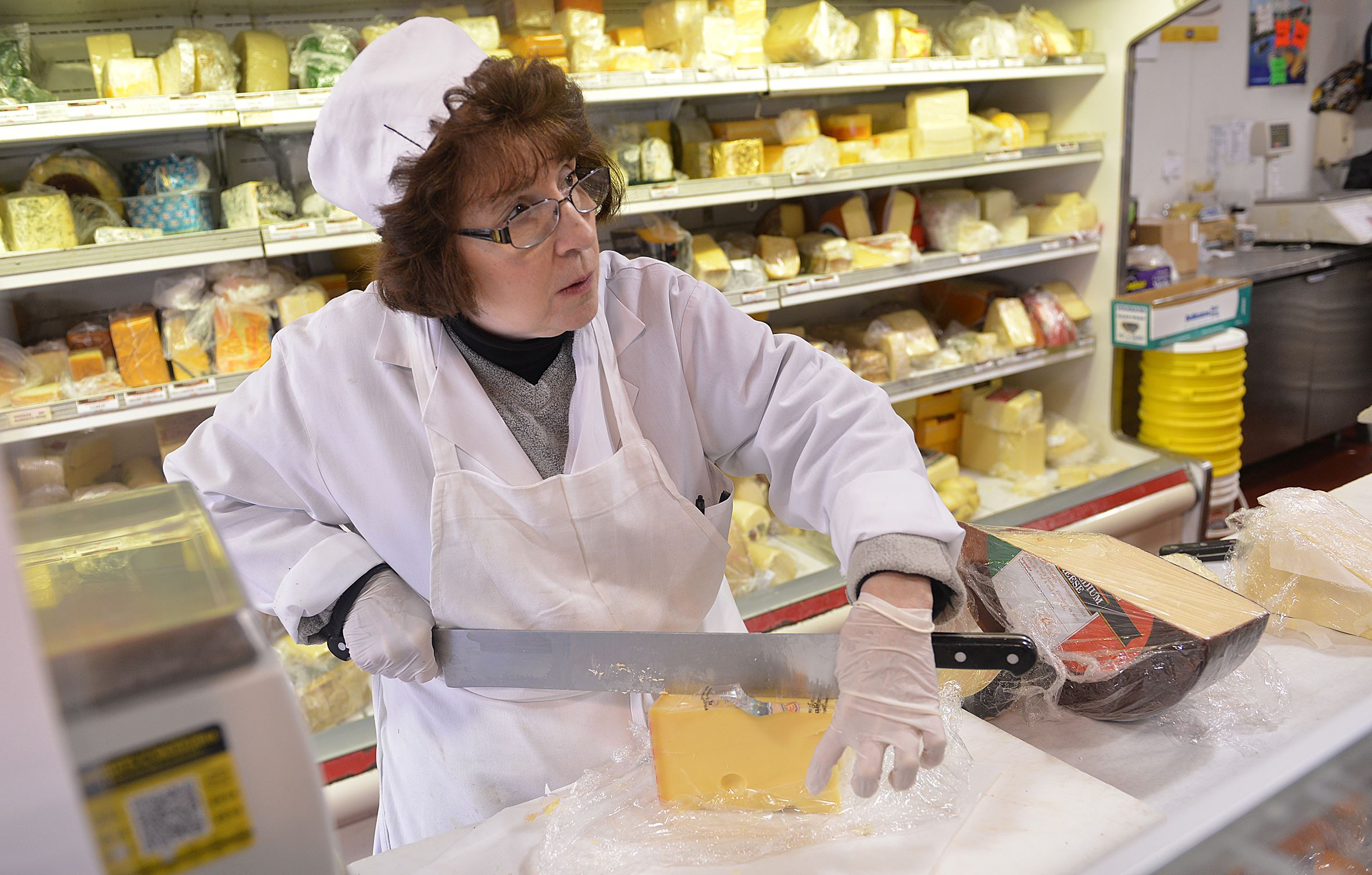 Meet Carol 'Dearheart' Pascuzzi, the ever-cheerful cheese expert of Penn Mac