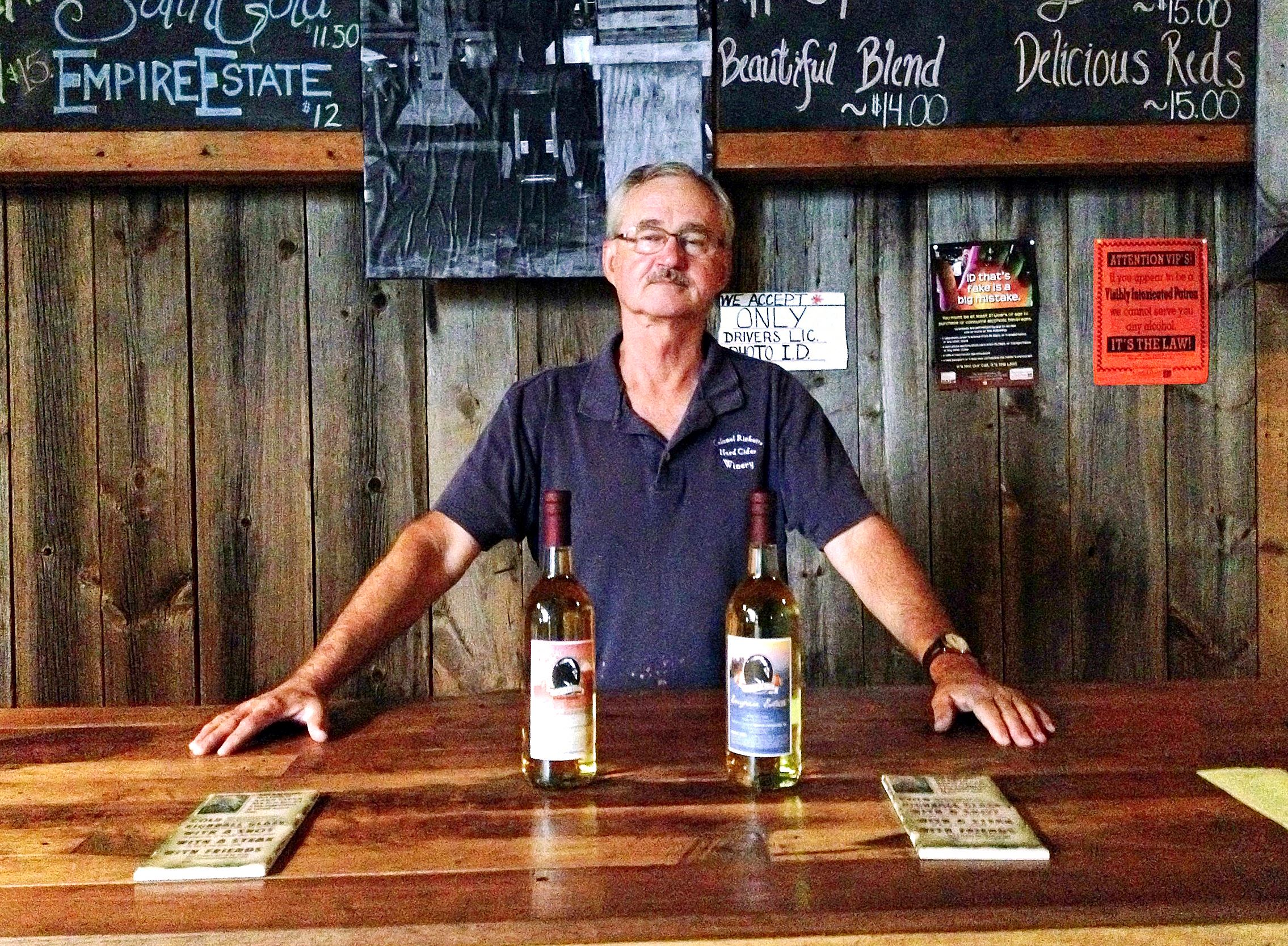 The pressing business of hard cider
