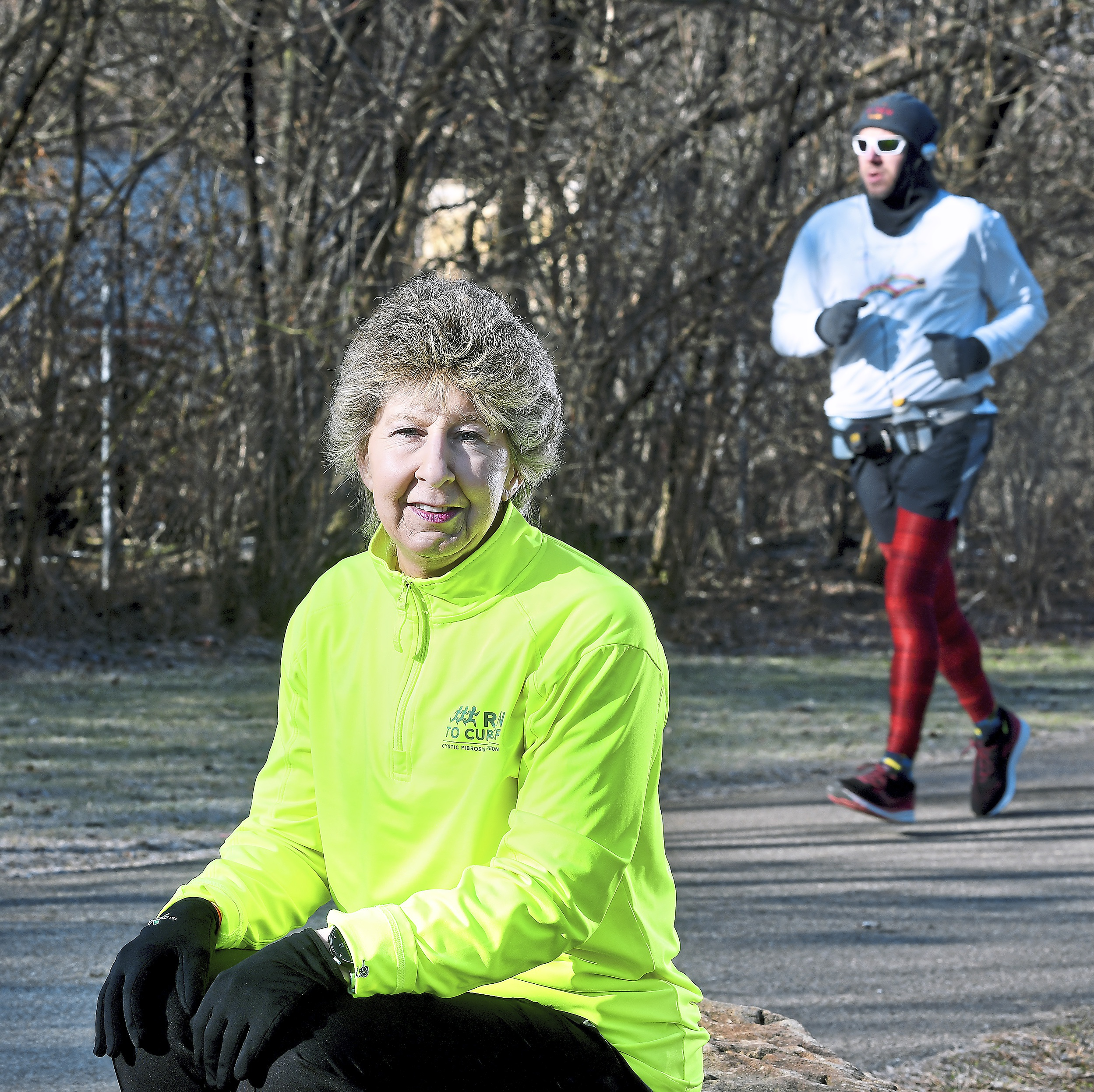 Late-bloomer running coach leaves no runner — and no funds — behind